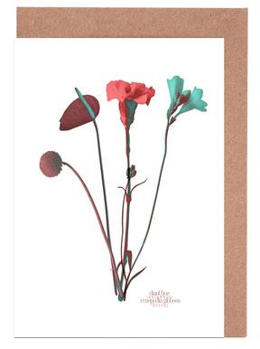 Ode aux Fleurs (Mint) Greeting Card Set