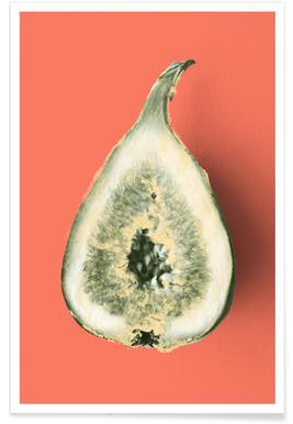 Ode aux Légumes - Fig Poster