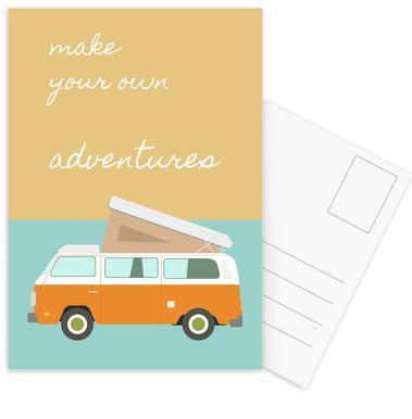 Make Your Own Adventures Postcard Set