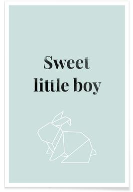 Sweet Little Boy Poster