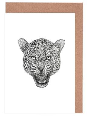 Jaguar wenskaartenset