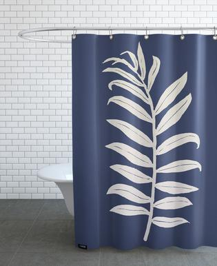Areca Palmata Deepnight Moon Shower Curtain