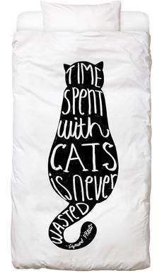 Freud's Cat Linge de lit