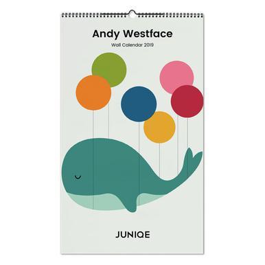 Andy Westface 2019 Wandkalender