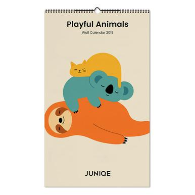 Playful Animals 2019 Calendrier mural