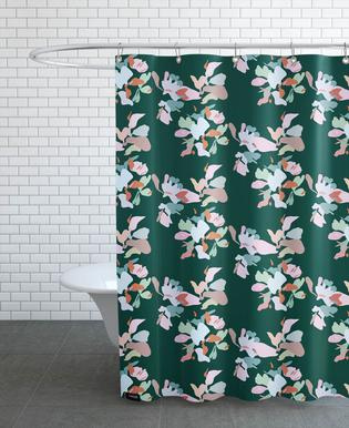 English Ivy Panama Palette As Shower Curtain By Mariery Young