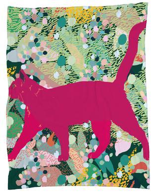 Catgenta Fleece Blanket