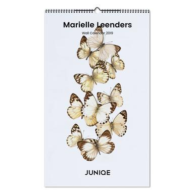 Curious Collections by Marielle Leenders 2019 Wall Calendar