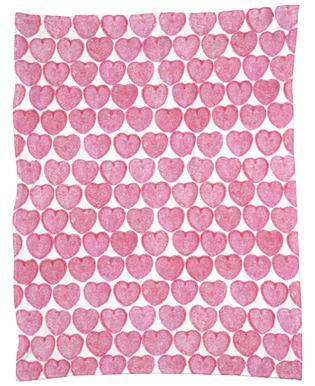 Pink Hearts plaid