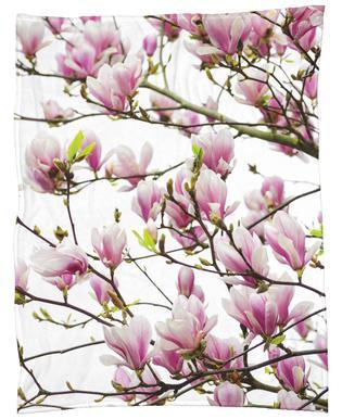 Magnolia Pink 1 Fleece Blanket