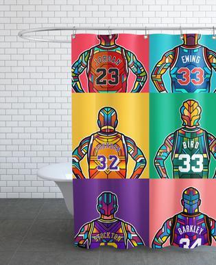 NBA Legends douchegordijn