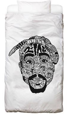Tupac Linge de lit