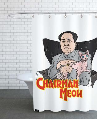 Chairman Meow Shower Curtain