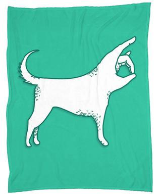 Cane Fleece Blanket