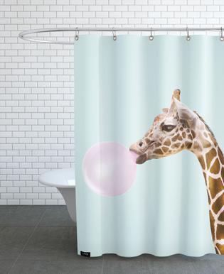 Giraffe douchegordijn