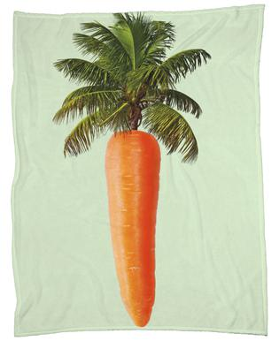 Palm Carrot Plaid