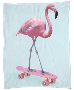 Skate Flamingo plaid