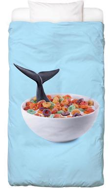 Whale Cereal Kinderbettwäsche