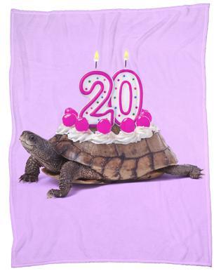 20 Turtle Fleece Blanket