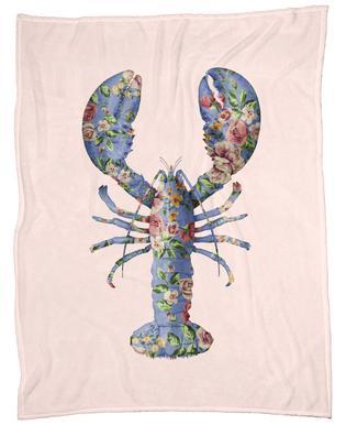 Floral Lobster plaid