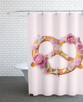 Floral Pretzel -Duschvorhang