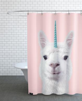 Alpaca Unicorn -Duschvorhang