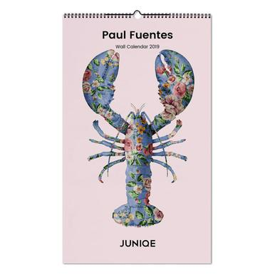 Paul Fuentes 2019 Wandkalender