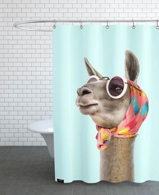 Fashion Llama Rideau de douche