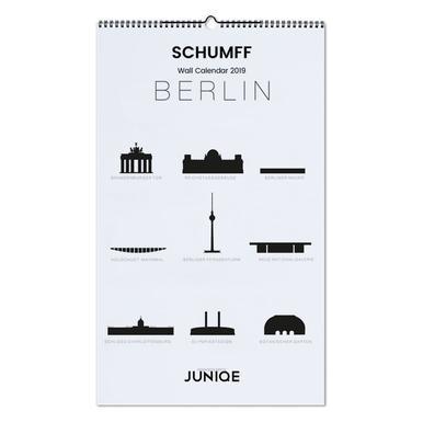 SCHUMFF 2019 Wall Calendar