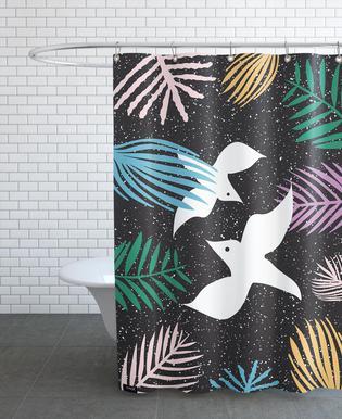 Birds Of Paradise As Shower Curtain By Linda Gobeta