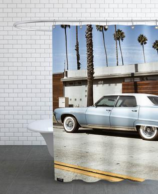 Buick Blue -Duschvorhang