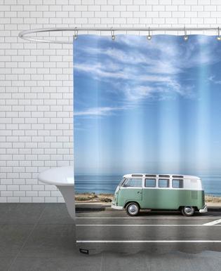 Wolfsburg Panorama -Duschvorhang