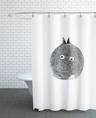 Bunny Eyes As Shower Curtain By Doozal