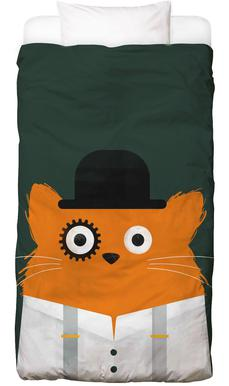 Cat - Clockwork Bed Linen