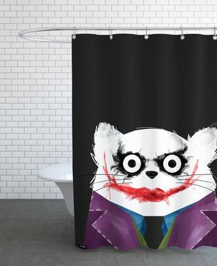 Cat - Joker Shower Curtain
