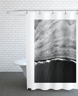 Black Ocean Duschvorhang