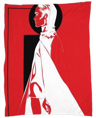 Iconographic 3 Fleece Blanket