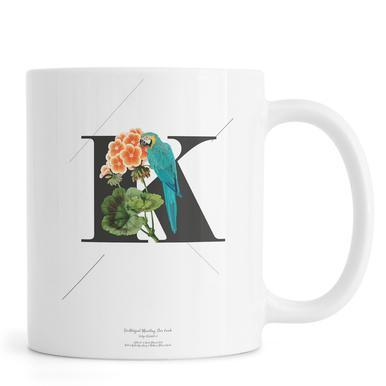 Botanical Alphabet - K Mug