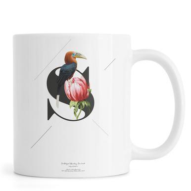 Botanical Alphabet - S Mug
