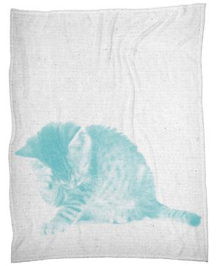 Kätzchen 02 Fleece Blanket