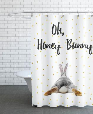 Honey Bunny As Shower Curtain By Froilein Juno