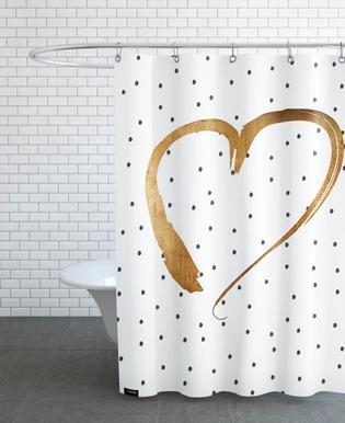 Heart 1 Shower Curtain