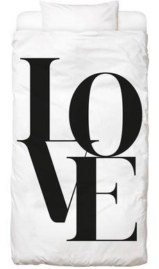 Love 2 Linge de lit