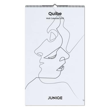 Quibe 2019 Wall Calendar