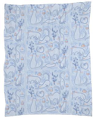 Feline Fleece Blanket