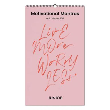 Motivational Mantras 2019 Wandkalender