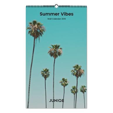 Summer Vibes 2019 Wall Calendar