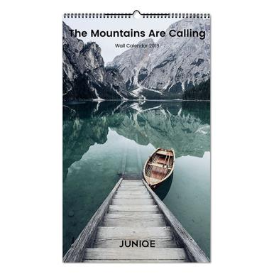 The Mountains Are Calling 2019 Calendrier mural