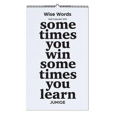 Wise Words 2019 Jaarkalender