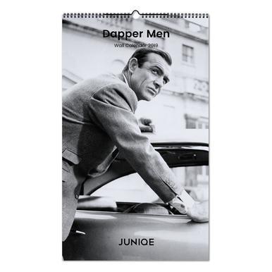 Dapper Men 2019 Wall Calendar